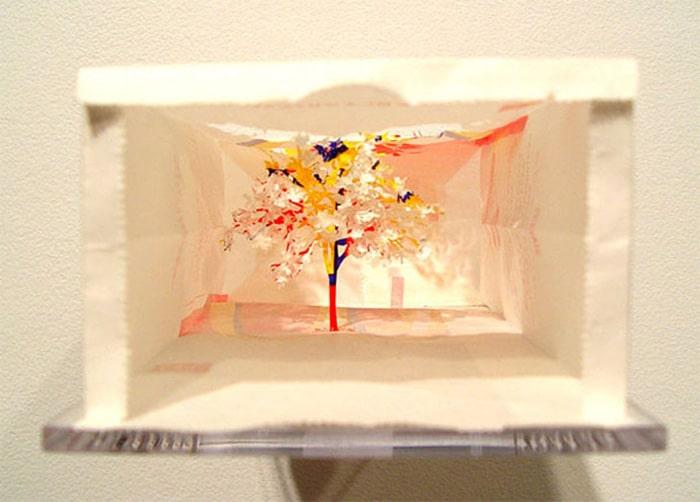yuken teruya discarded shopping bag art