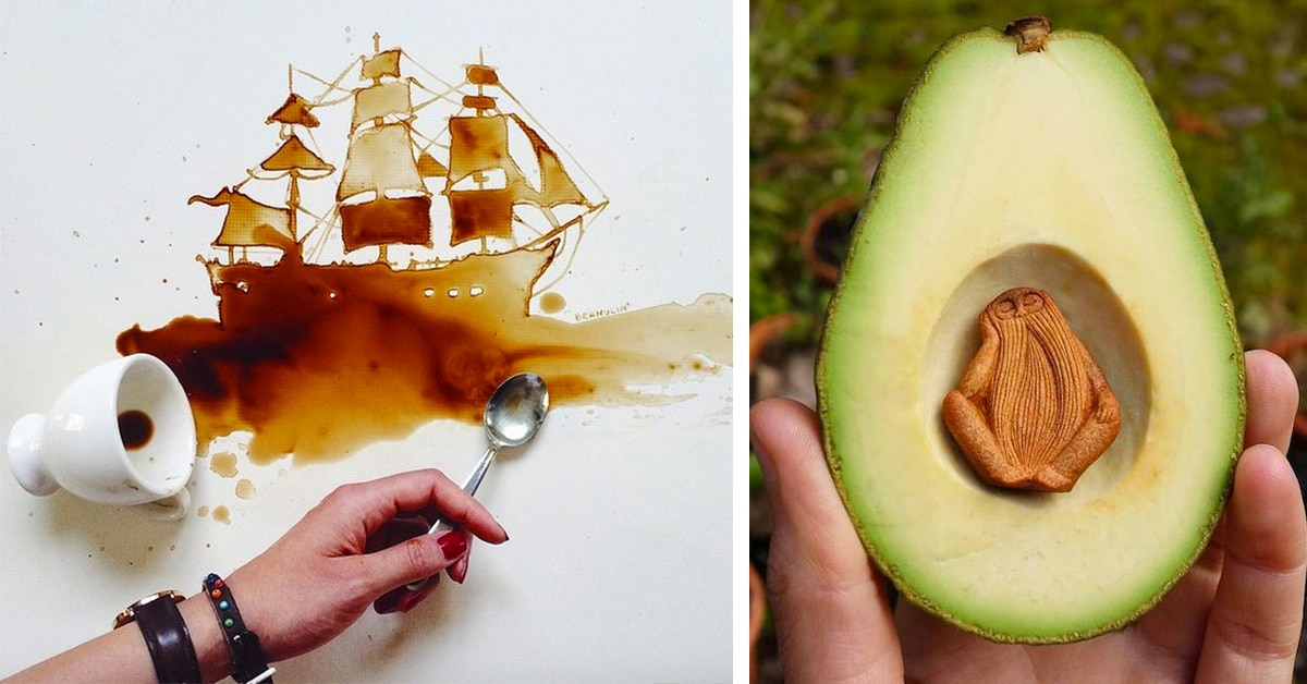Unusually Awesome Art Mediums That Will Astound You