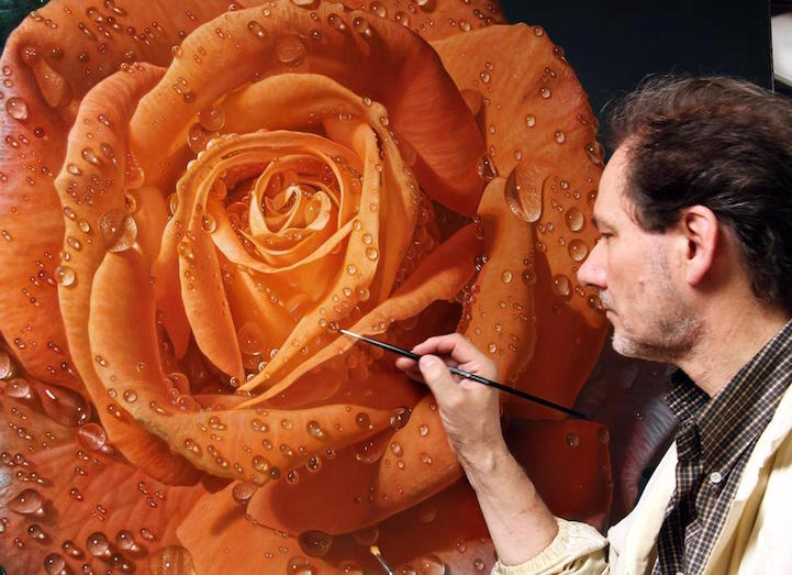Hyperrealism Painting Gioacchino Passini