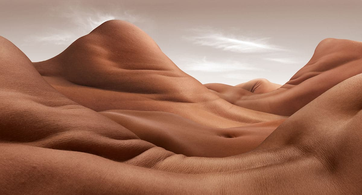 Surreal Landscapes Made from Body Parts