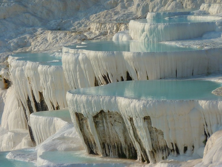 Pamukkale Turkey Thermal Pools