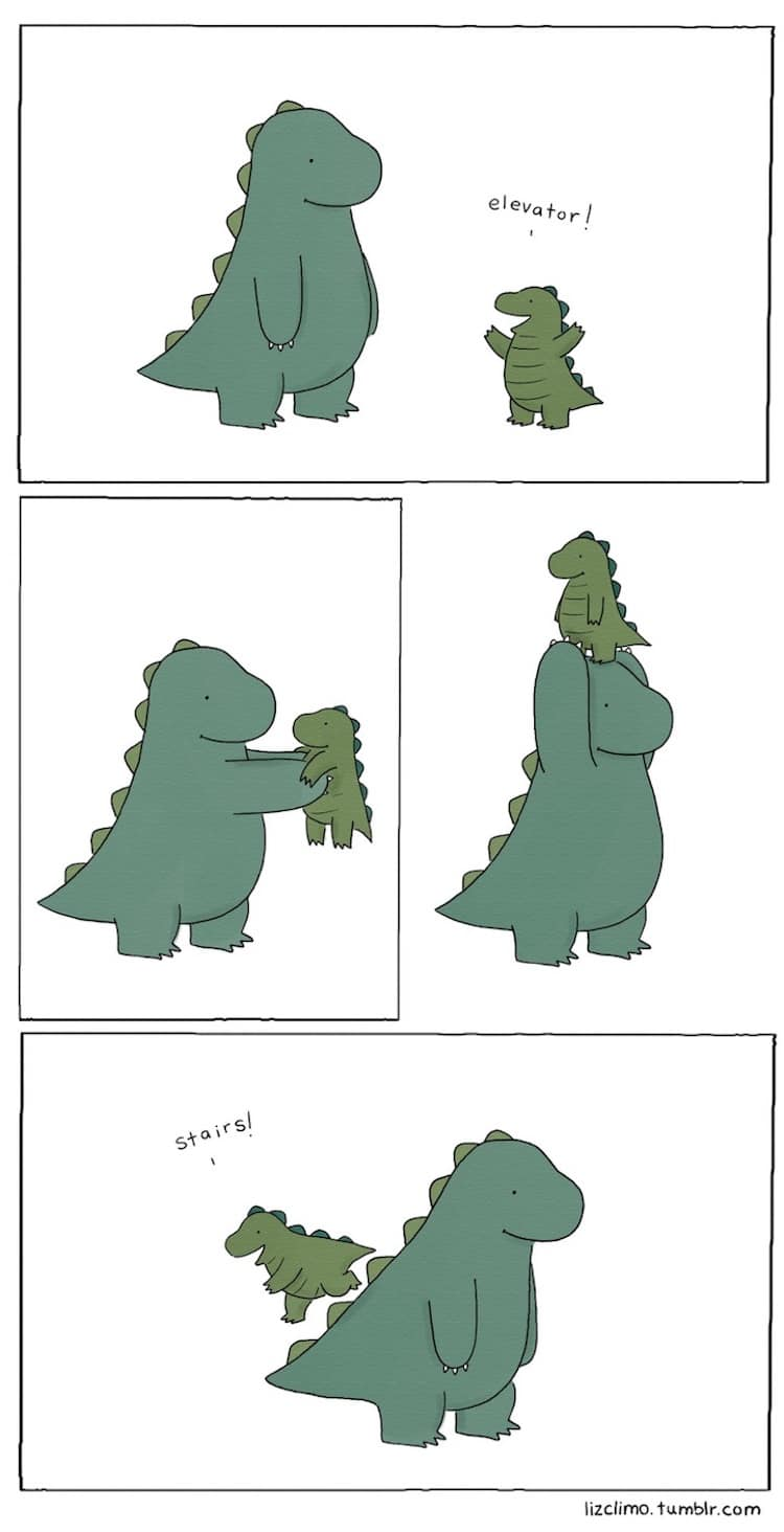 Liz Climo Animal Comics