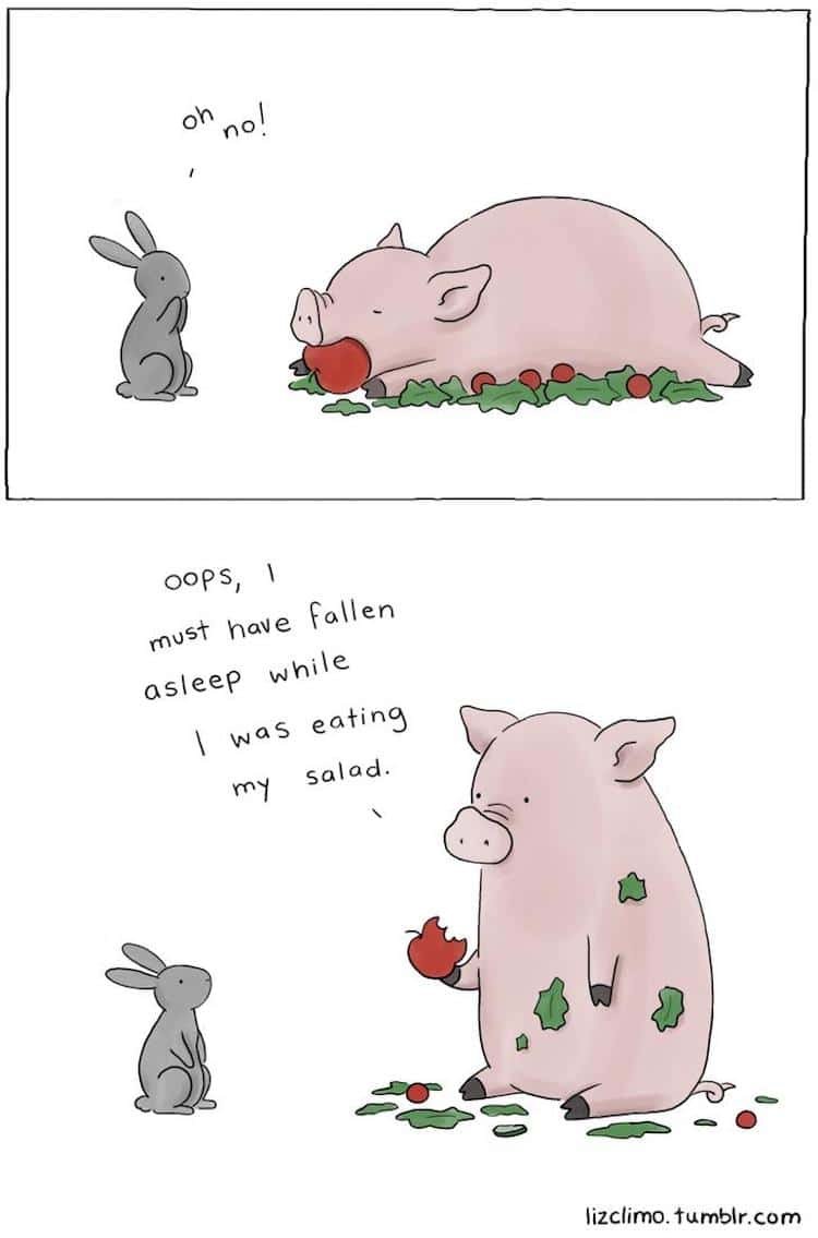 Liz Climo Animal Comics Illustration