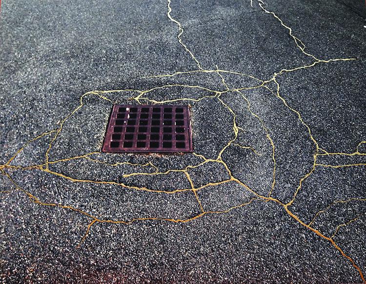 Rachel Sussman Kintsugi Broken Pottery Gold Japanese Art