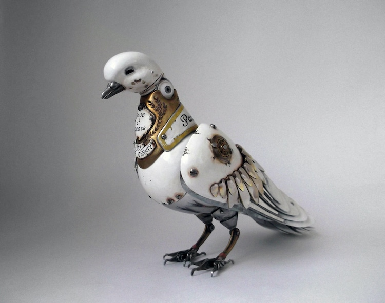 Steampunk Animal Sculptures by Igor Verniy