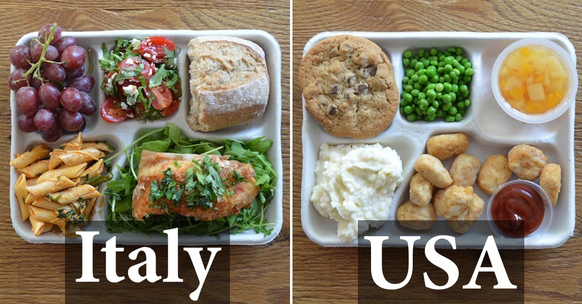 Healthy Students Eating Healthy Meals