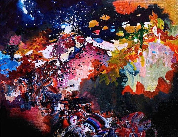 Synesthesia Examples Synesthesia Paintings Melissa McCracken