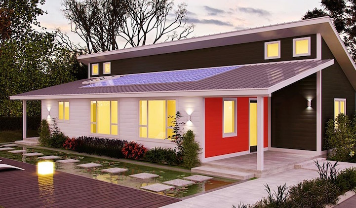 Modern prefab homes under 100k offer an eco friendly way for Build a house for 100k