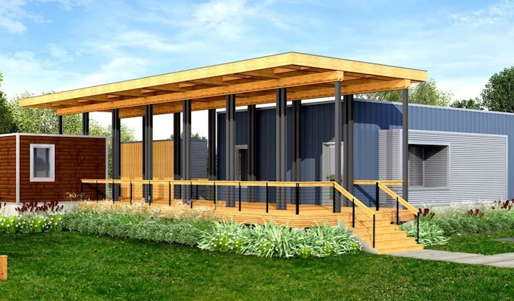 Pleasant Modern Prefab Homes Under 100K Offer An Eco Friendly Way Of Life Interior Design Ideas Clesiryabchikinfo