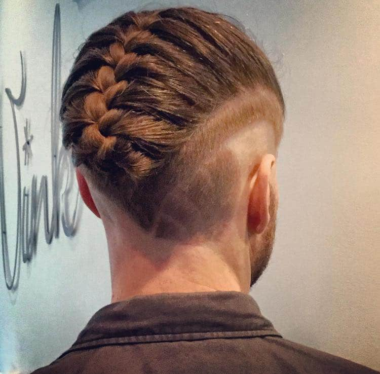 The Man Braid Man Bun Braids Is The Newest Trend In Mens Hairstyles