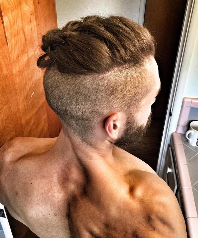 The Man Braid Quot Man Bun Braids Quot Is The Newest Trend In Men S Hairstyles