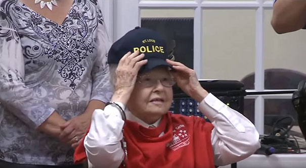 Senior Citizen Arrested By St. Louis Police Department Item On Bucket List
