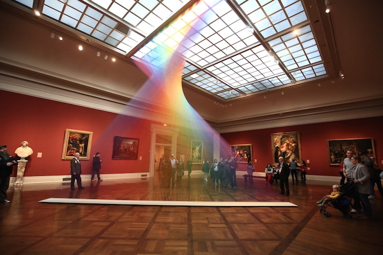 Gabriel Dawe au Musée d'Art de Toledo