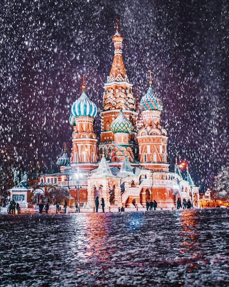 kristina keeva light snow moscow