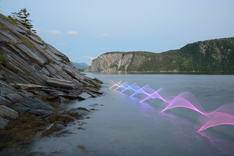 stephen orlando light paintings