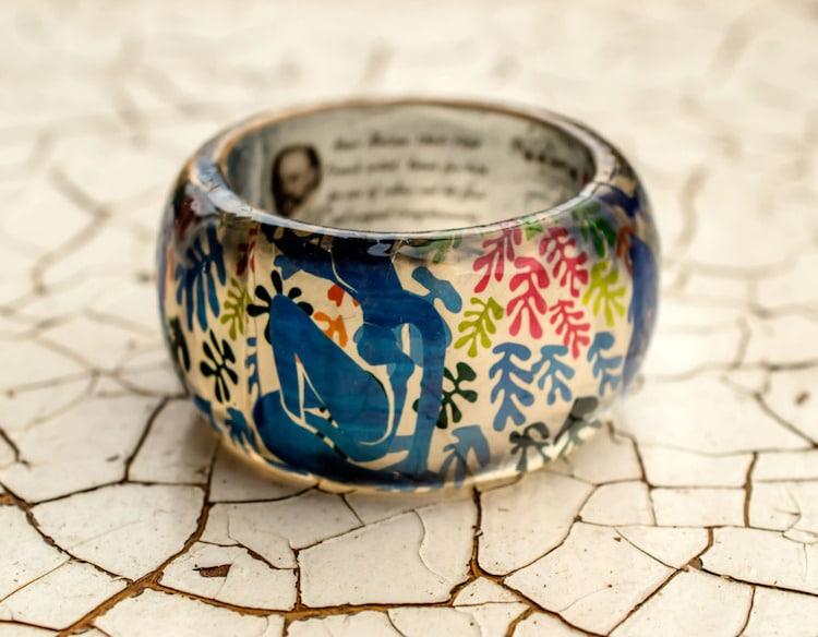 3-paganeuniques-fine-art-resin-bracelet-matisse