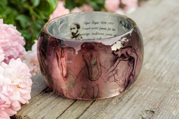 résine-bracelet-dégazer 5-paganeuniques-fine-art-