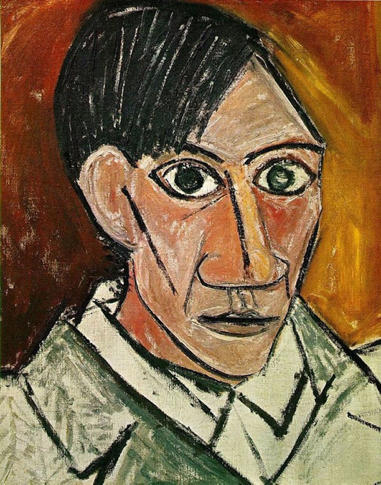 pablo picasso art history self portrait