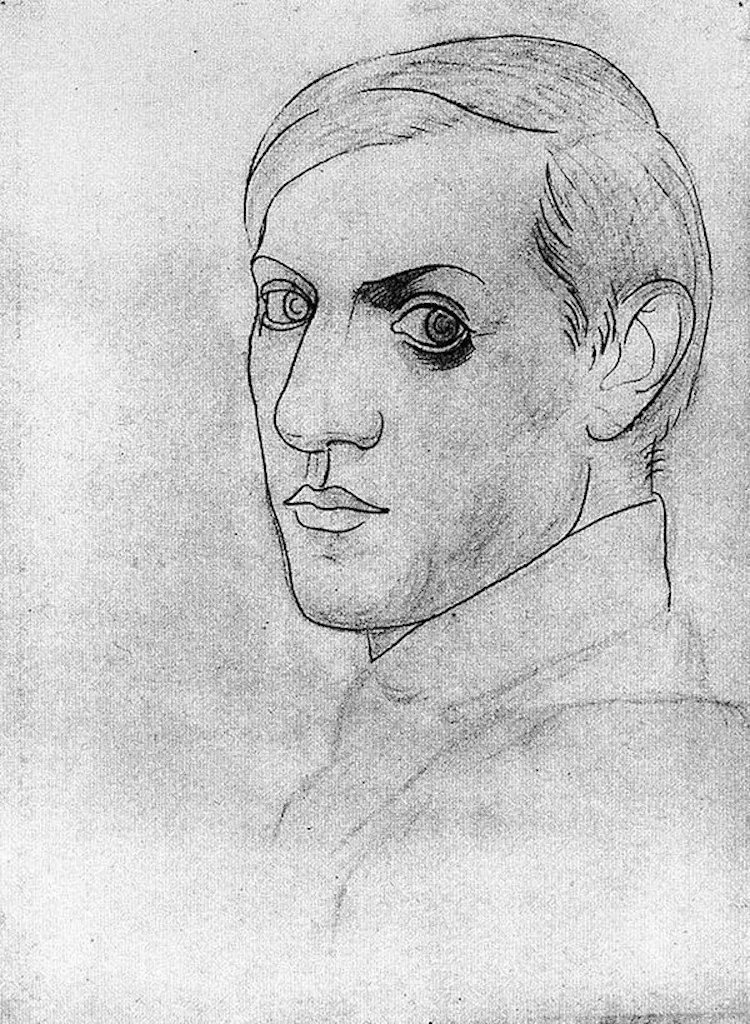 Picasso's Self-Portraits Reflect His Constantly Changing Style