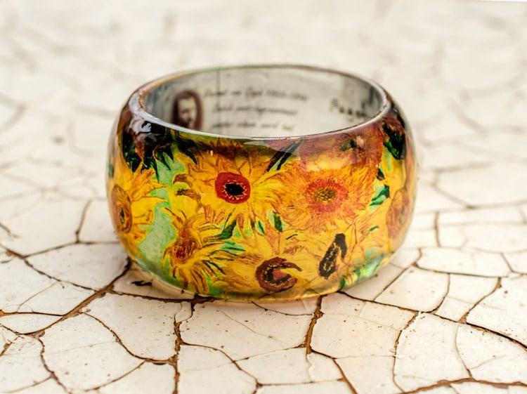 7-paganeuniques-fine-art-résine-bracelet-van-gogh