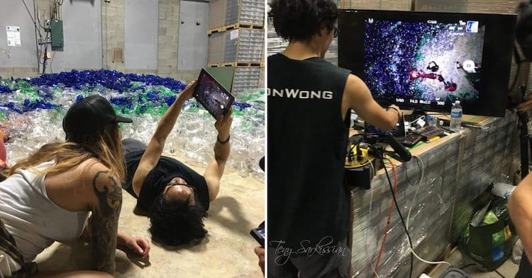 benjamin von wong behind the scenes