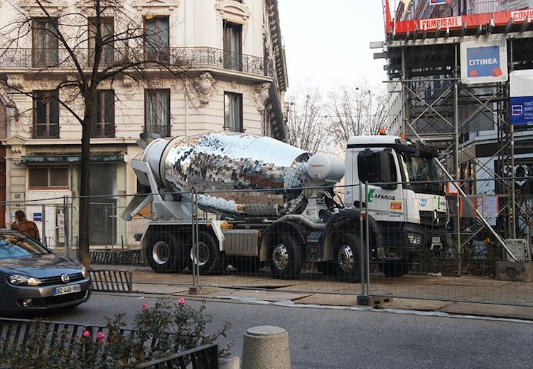 disco cement truck benedetto bufalino lyon
