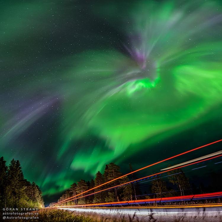 göran strand astrophotography aurora