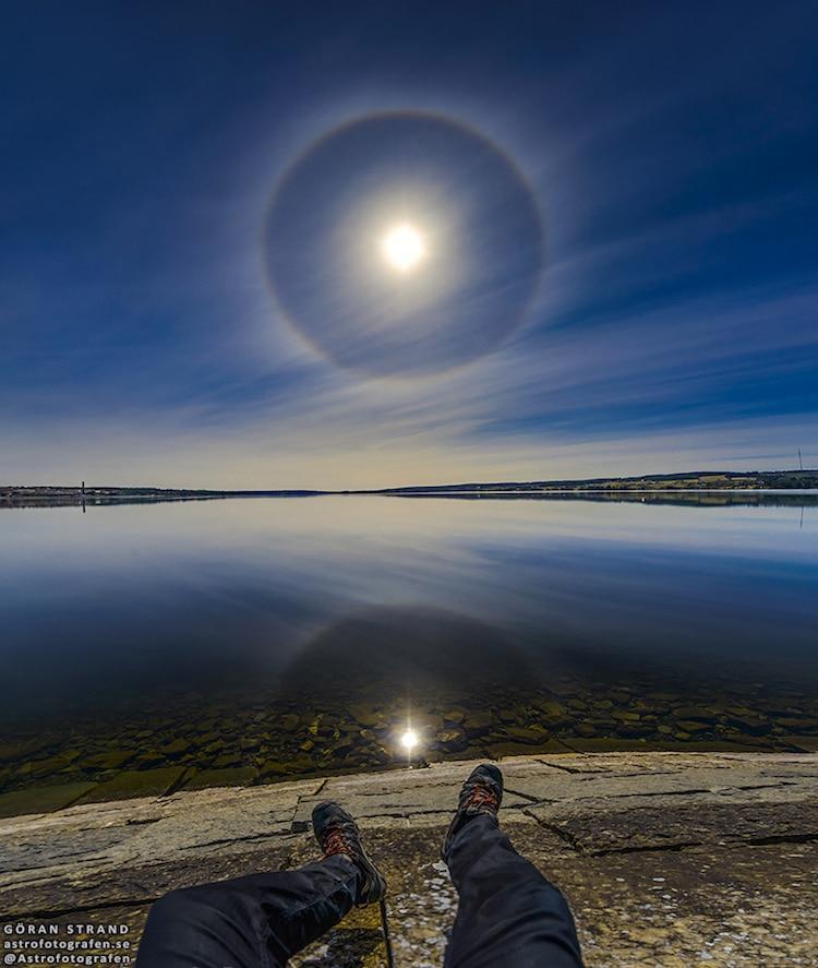 göran strand astrophotography solar halo