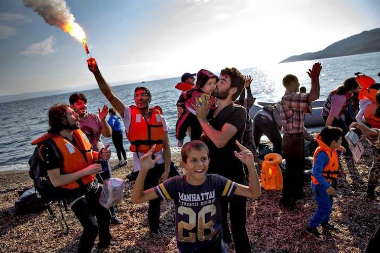 best photos Jacob Ehrbahn Refugee Stream 2016