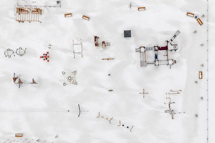 aerial photographs poland