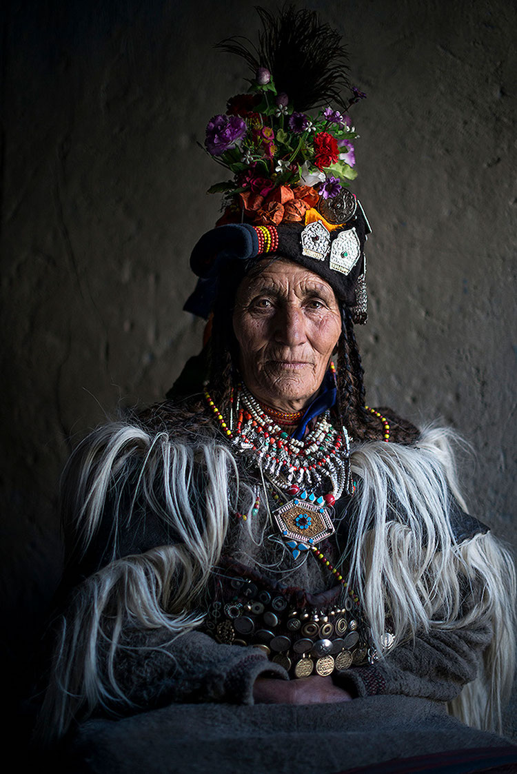 Drokpa woman from northern India.