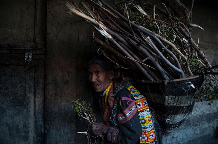 Kalash woman from Pakistan.