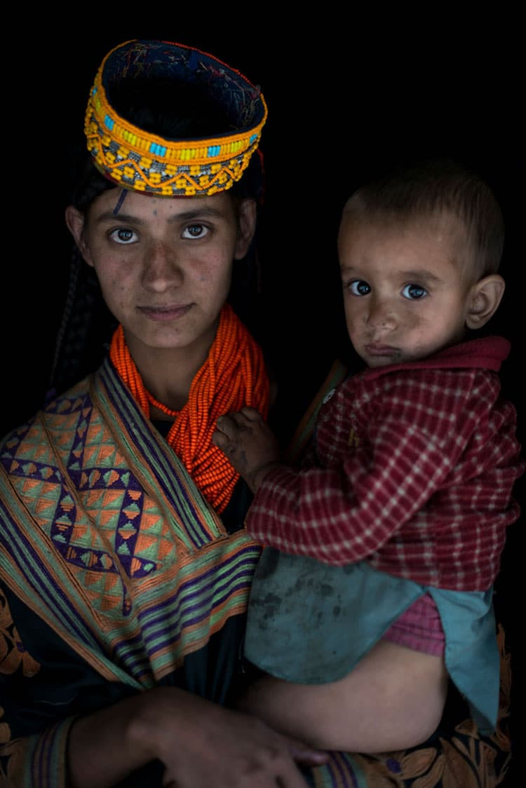 Kalash people of Pakistan.