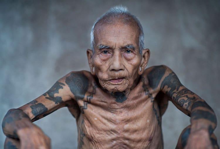 Iban man from Malaysia.