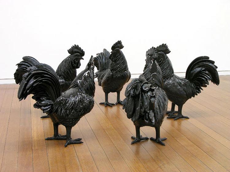 michael parekowhai parliament of fools sculpture