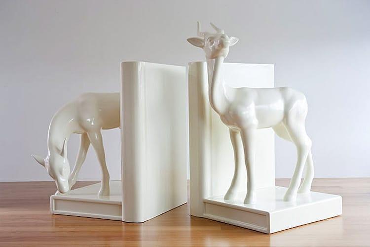 Michael Parekowhai seldom is herd buck doe sculpture