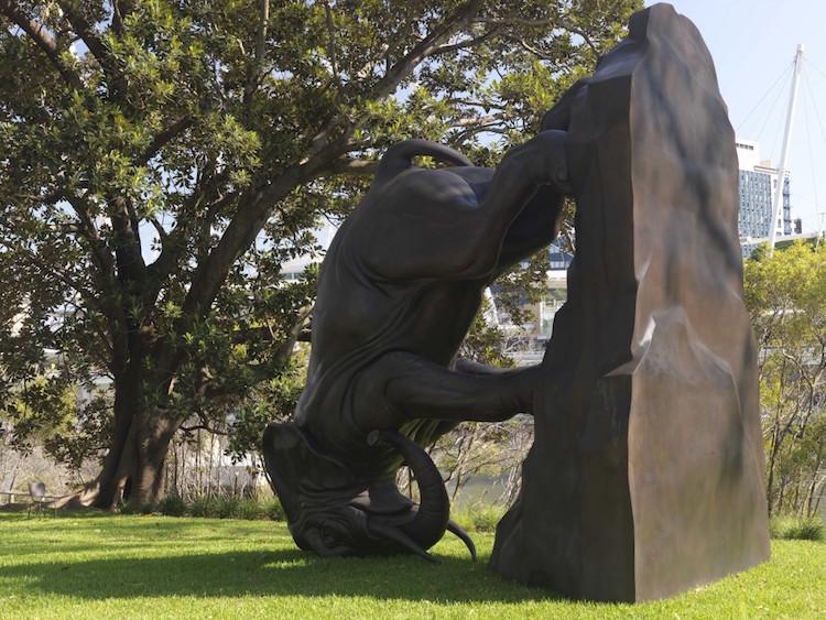 Michael Parekowhai The World Turns Sculpture