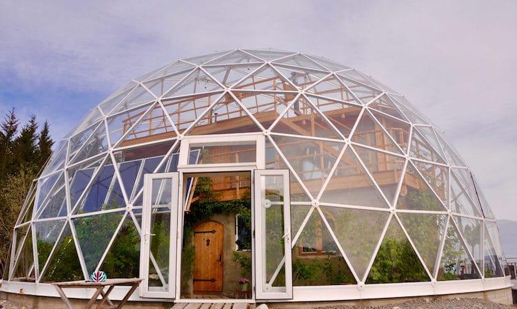 nature house hjertefolger casa de cob círculo polar ártico