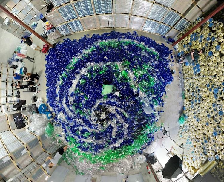 benjamin von wong plastic pollution