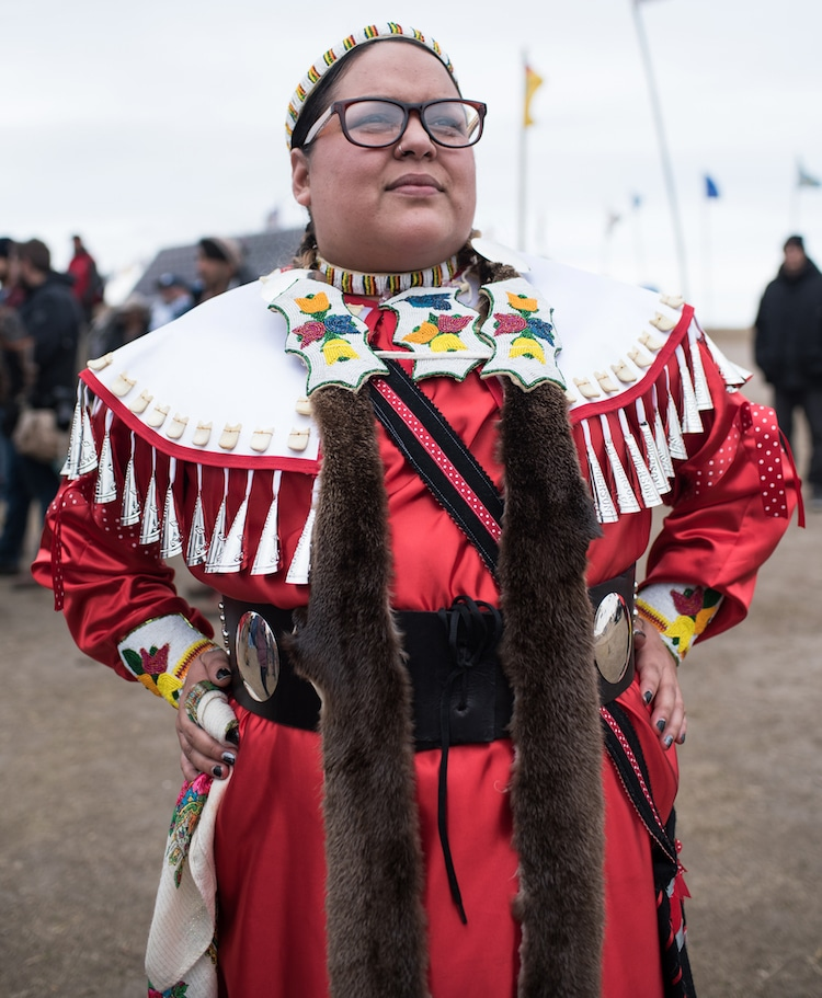 avery leigh white standing rock
