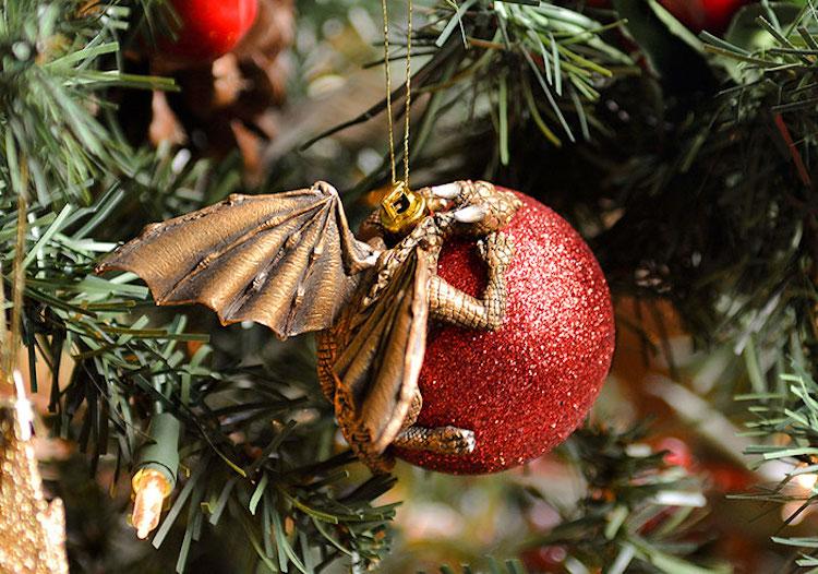 dragon ornaments by Aelia Petro