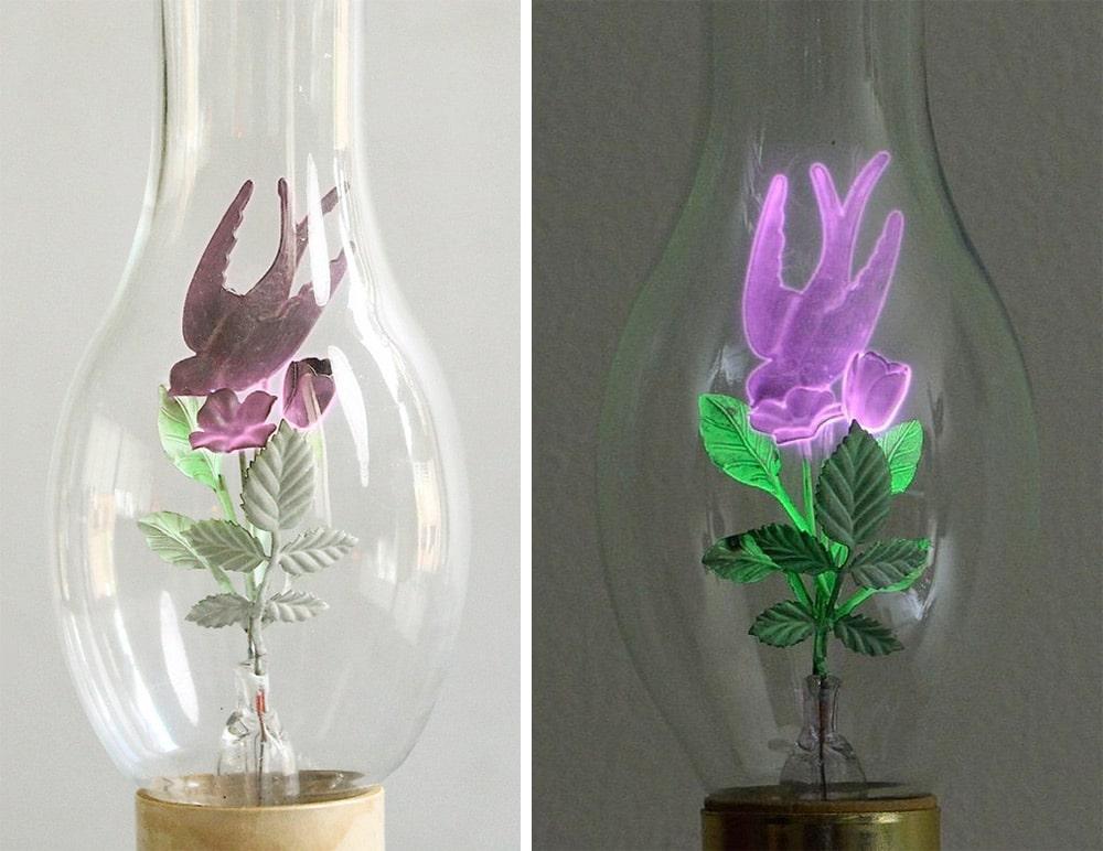 Aerolux rose light bulb
