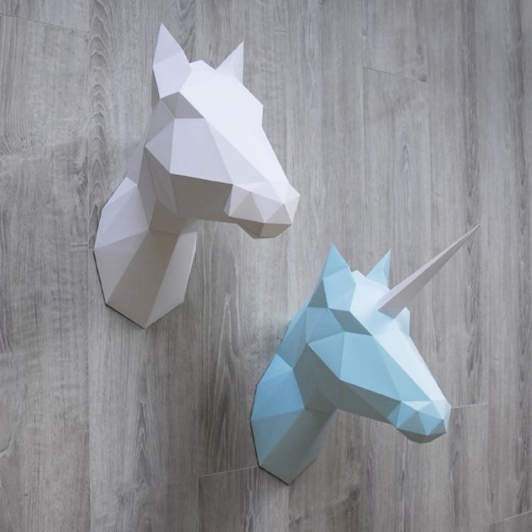 Assembli diy paper sculptures