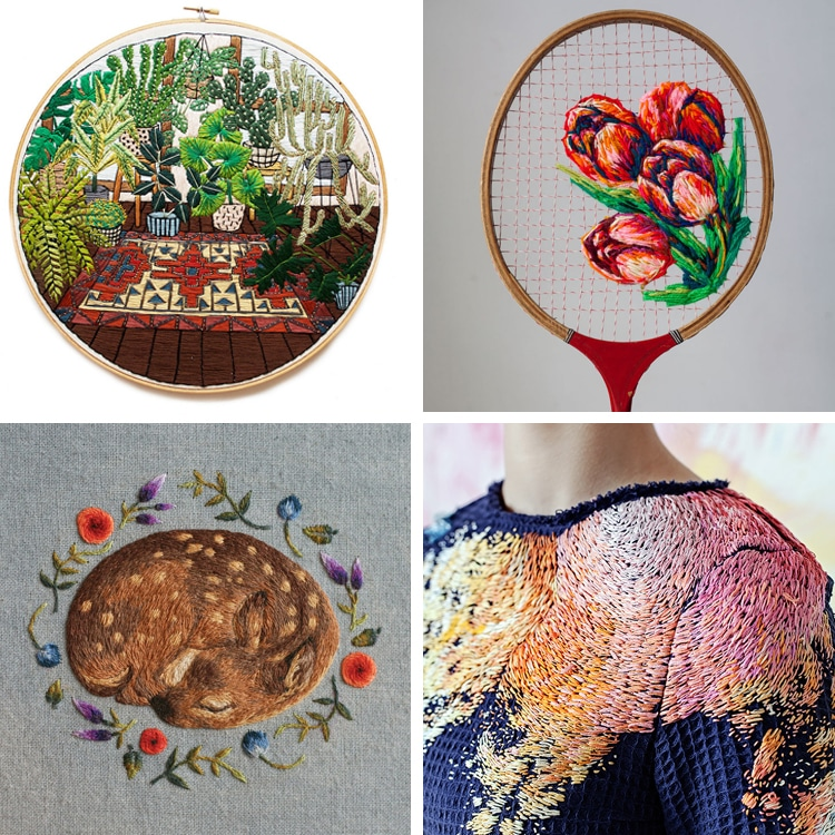 Best of 2016 embroidery artists