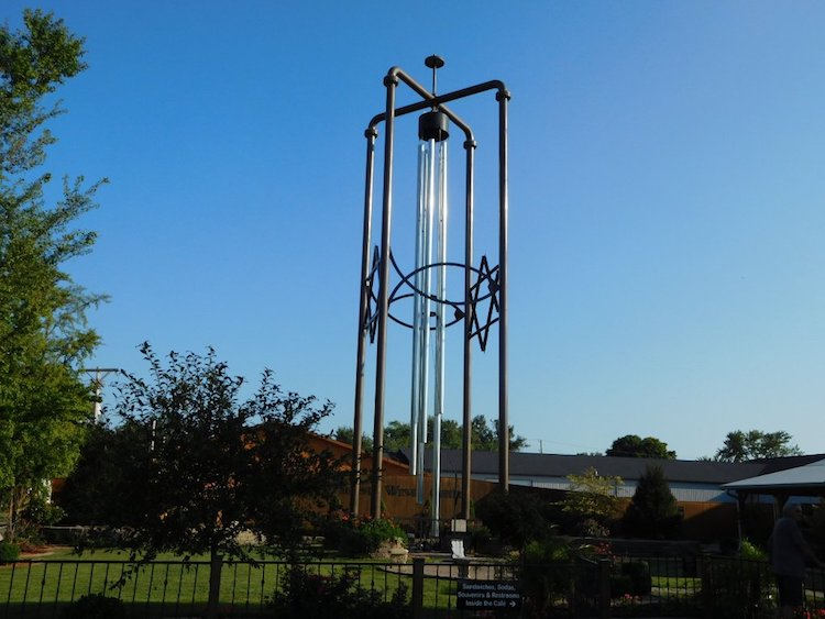 World's Largest Wind chime in Casey, Illinois