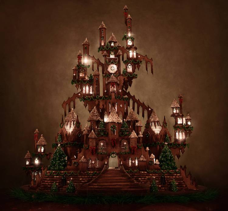 Christine McConnell gingerbread castle