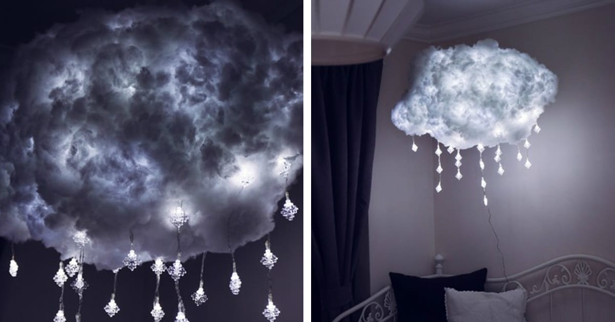 Diy Cloud Light Is A Handcrafted Way To Bring Airy