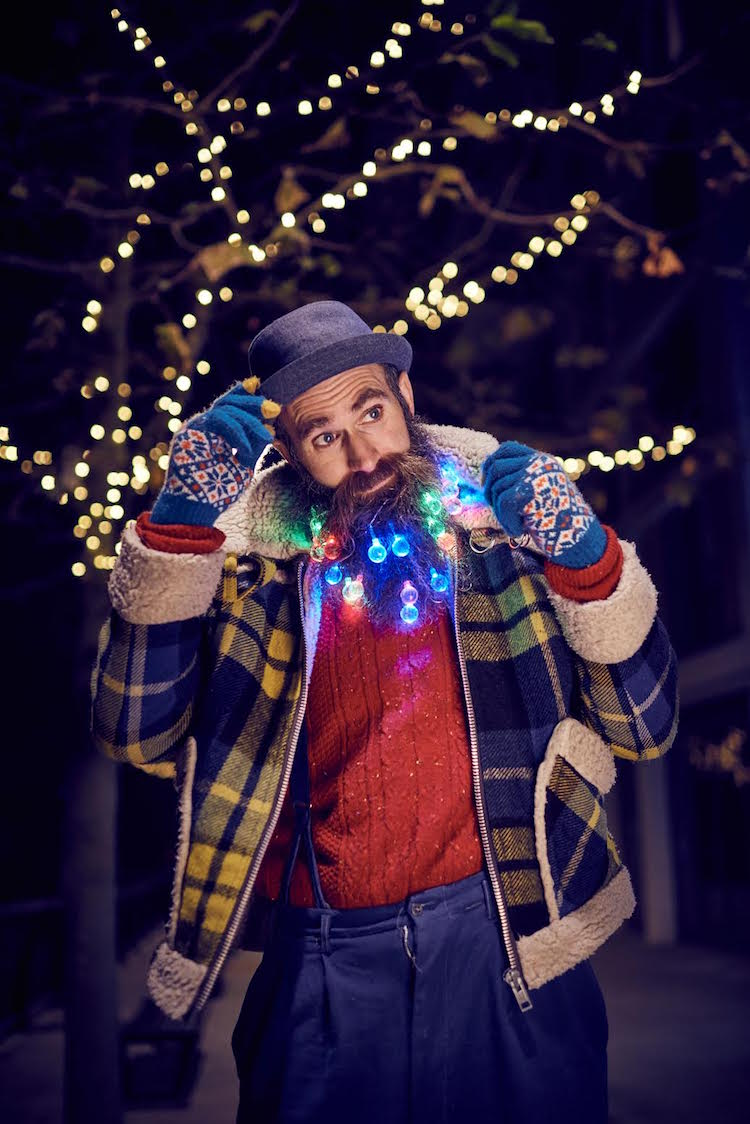 Beard Lights - Men Are Decorating Their Beards Like a Christmas Tree