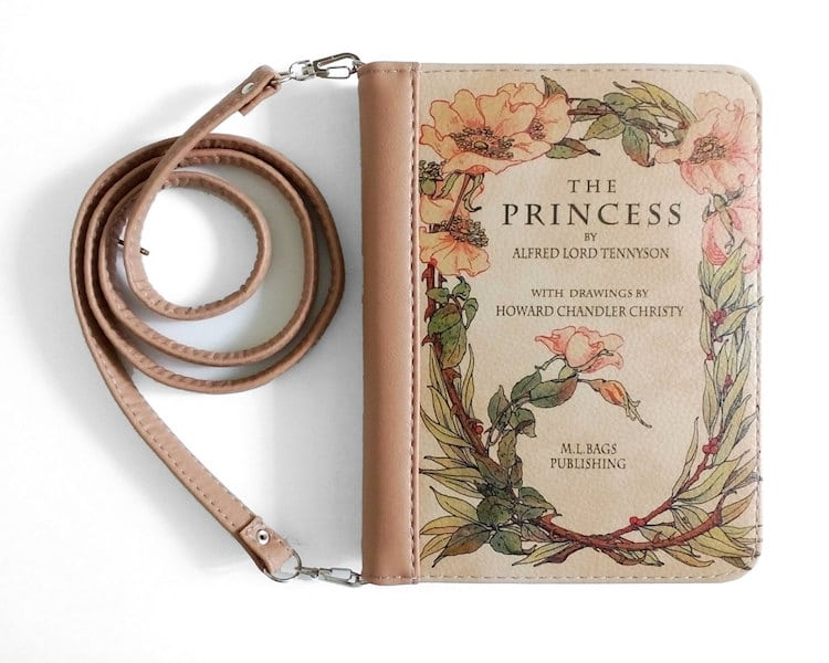 "BAGatelle Studio: ""The Princess "" book clutch"