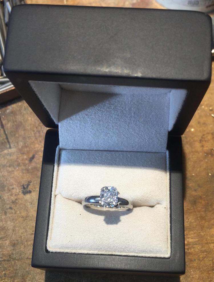 Eric Page wedding proposal